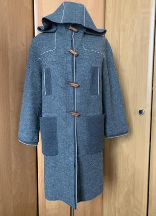Пальто из шерсти р.38