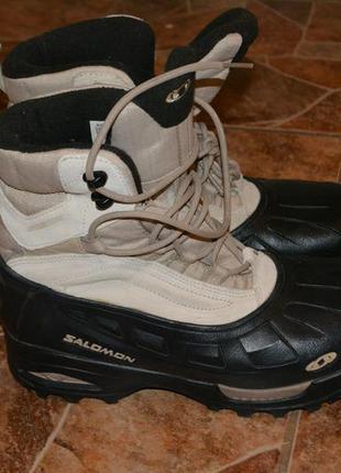 Теплые зимние ботинки salomon оригинал