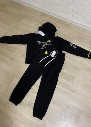 Женский черный костюм zadig & voltaire