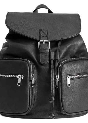 Классический кожаный рюкзак с тремя карманами фантинос рюкзак купить