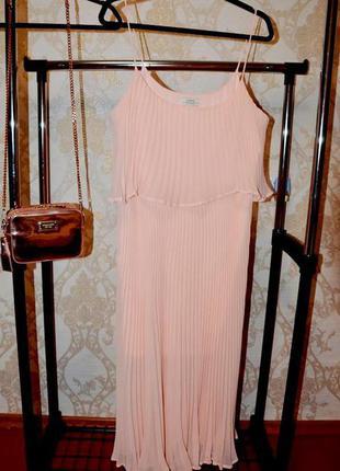 Платье сарафан плиссе