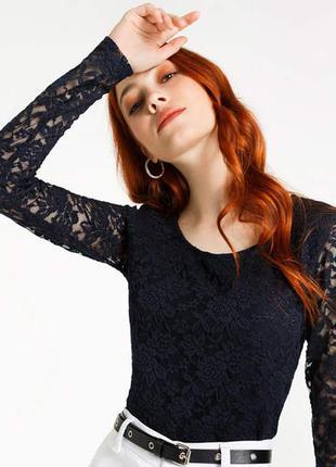 Красивый реглан, кофточка, блуза с гипюром от spirit