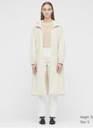 Uniqlo пальто куртка оверсайз l-xl размера
