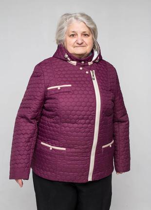 Куртка больших размеров осенняя демисезонная. батал
