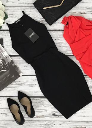 Классическое платье-чехол missguided с широкой проймой   dr48125