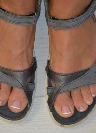 Кожаные сандалии ecco р. 39 по стельке 25,5 см