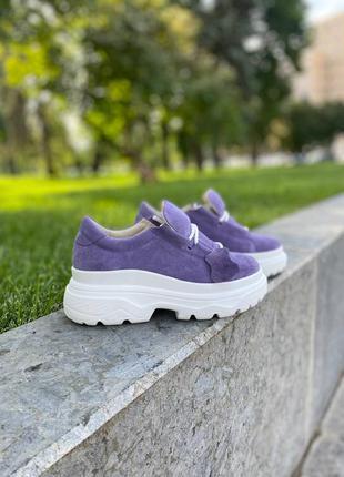 Замшевые / кожаные кроссовки. разные цвета