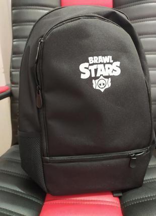 Стильный молодежный качественный городской спортивный рюкзак brawl stars