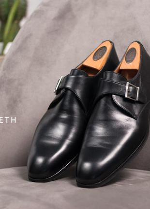 Монки daniel kenneth, испания кожаные мужские туфли