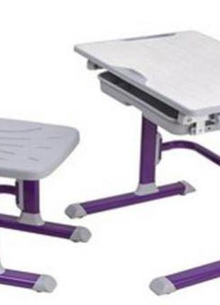 Комплект парта и стул-трансформер cubby lupin