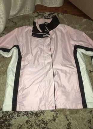 Шикарная немецкая розовая курточка! sportswear