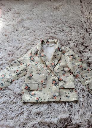 H&m,стильный пиджак,на годик,год