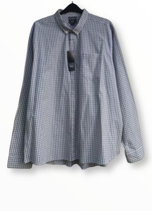 Коттоновая рубашка в клетку