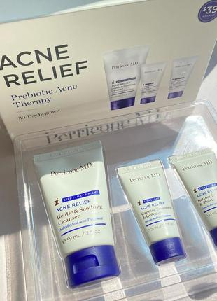 Набор анти-акне perricone md acne relief