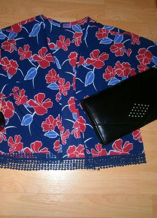 Легкий шелковый укороченый кардиган накидка кимоно от f&f арт97