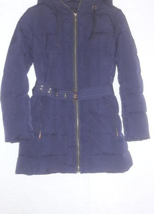 Пуховик парка куртка zara