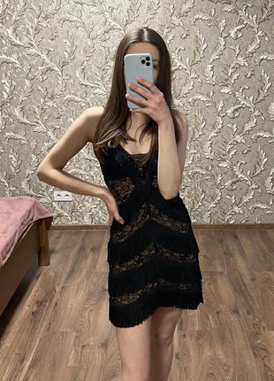 Коктельное короткое платье seam