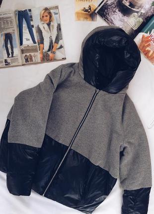 Пуховик кокон,скидки,зимний бомбер,зимний пуховик,пуховик оверсайз,стильная куртка