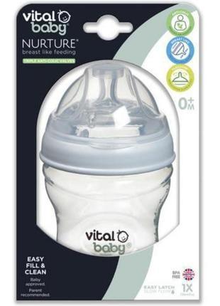 Бутылочка vital baby