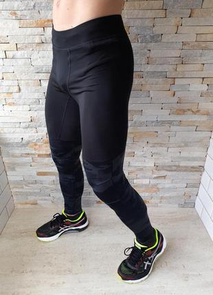 Мужские беговые лосины adidas
