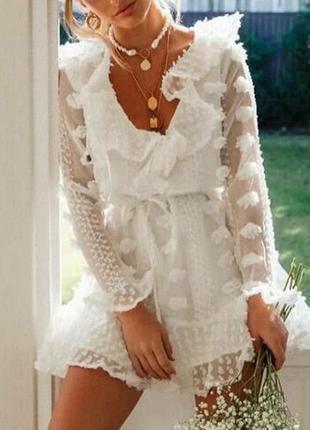 Шикарное воздушное платье, люкс качество,лето,весна,хит.