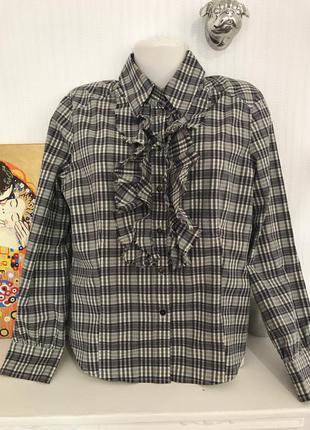 Рубашка в клетку mexx