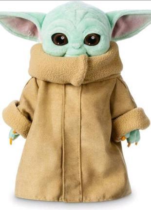 М'яка іграшка disney зоряні війни: мандалорец малюк йоду дісней оригінал