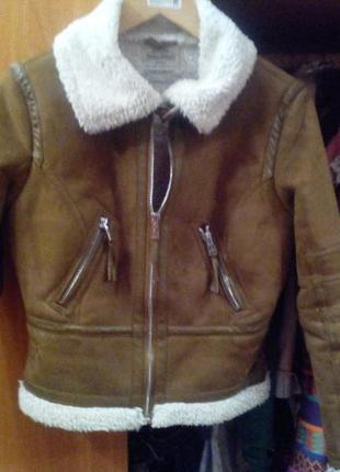 Bershka куртка, дубленка