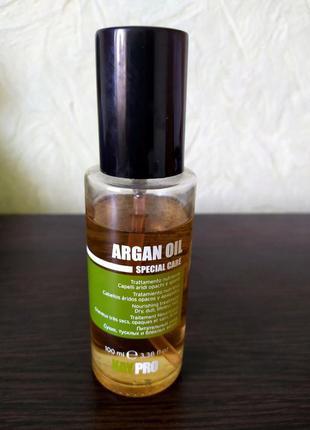 Масло для волос kaypro argan oil specialcare жидкие кристаллы с маслом аргана