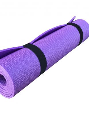Килимок (каремат) для йоги, фітнесу, танців osport колібрі