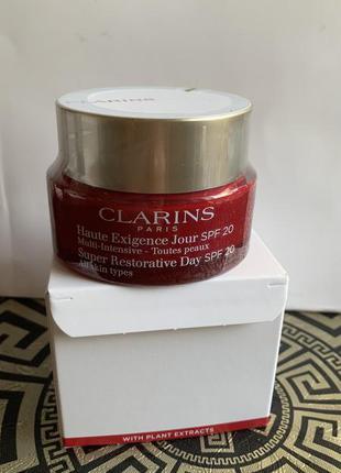 Clarins super restorative day cream jour spf 20 50 мл