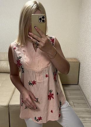 Женская стильная блузка майка)польша