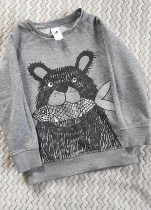 Детская теплая кофта свитер palomino