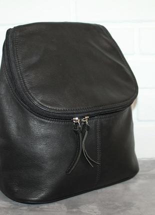 Кожаный городской рюкзак jobis. 100% натуральная кожа
