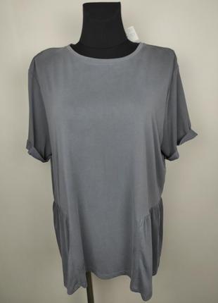 Блуза новая стильная большого размера трикотажная primark uk 18-20