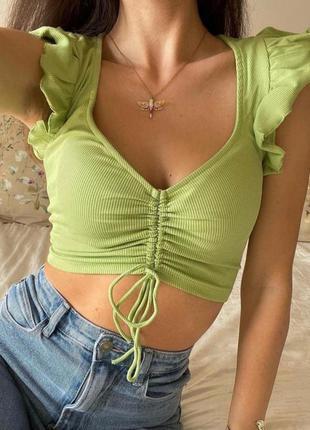Топ майка футболка блуза zara
