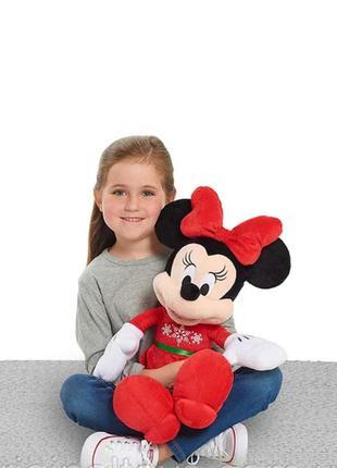 Мягкая плюшевая игрушка минни маус minnie mouse, 50 см just play