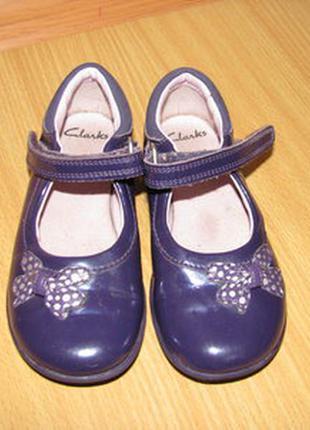 Clarks туфли мигалки