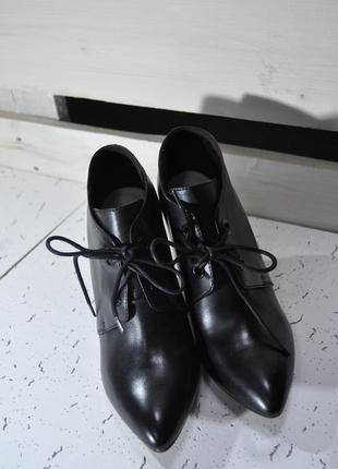 Туфли clarks натуральная кожа
