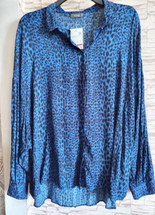 Легкая блузка с заниженной проймой jessica (c&a) батал (наш 54/56)💣