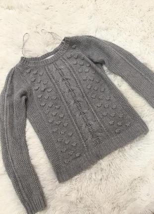 Тёплый и стильный свитер от zara