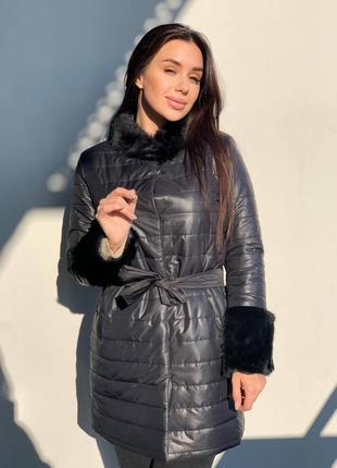 Пальто женское красивое стильное