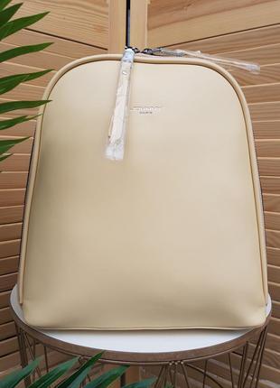 Скидка трендовый желтый стильный женский рюкзак