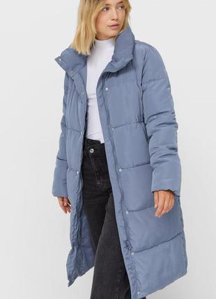 Зимняя куртка stradivarius, размеры s, m