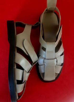 Натуральная мягкая кожа! сандали зара 36-41р