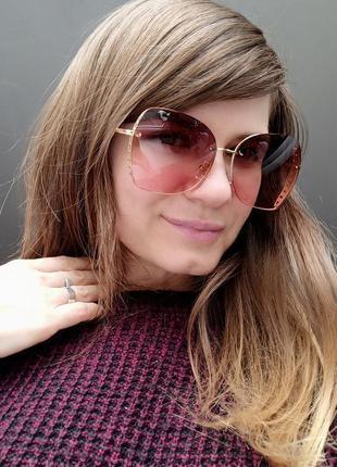 Новые стильные солнцезащитные очки бабочки