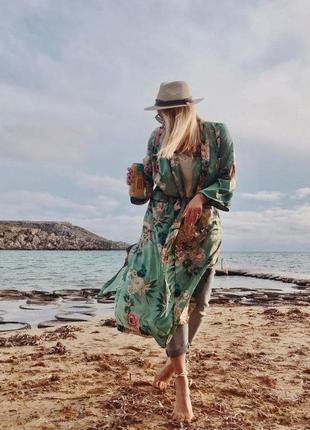 Кардиган новый, летний тренч роскошный стильный, уличный халат