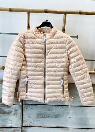 Новинка на демисезон 🍁🍁  зефирная стеганая демисезонная куртка j-clair, италия.