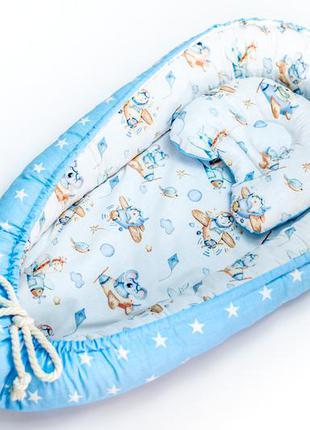 Кокон гнёздышко, позицинер для новорожденных