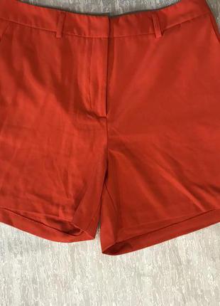 Стрейчевые коралловые шорты kiomi p -42